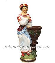Подставка для цветов кашпо Украинка , фото 2