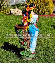 Подставка для цветов кашпо Украинка , фото 3