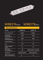 Нові світлодіодні модулі фірми RISHANG для реклами