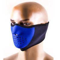 Маска для лица, ветрозащитная, неопрен/эластан.