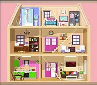 Съемное игровое поле для столика-песочницы KIDZ ZONE Кукольный домик