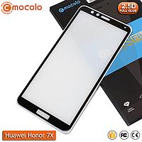 Захисне скло Mocolo Huawei Honor 7X (Black) - Full Glue, фото 1