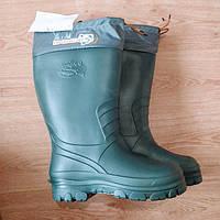 198507292c7fc4 Утепленні чоботи для мисливства і рибальства. Резиновые сапоги утепленные  для рыбалки и охоты 42