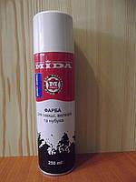 Аерозоль для замші МІДА темно-коричневий