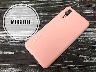 Чехол Huawei P20 розовый