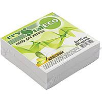 """Блок для заметок клееный 85х85мм 300 листов """"Crystal"""" ECO (40)"""