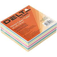 "Блок для заметок клееный 90 х90 мм 30 мм Color ""Delta by Axent"" (1) (108) №8024"