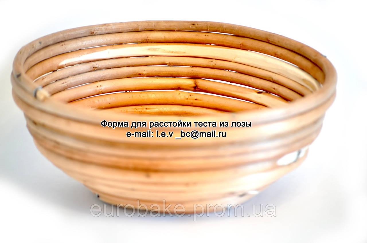 """Корзина для расстойки хлеба из лозы """"круглая"""" 0,8 кг - OVO-TECH в Белой Церкви"""