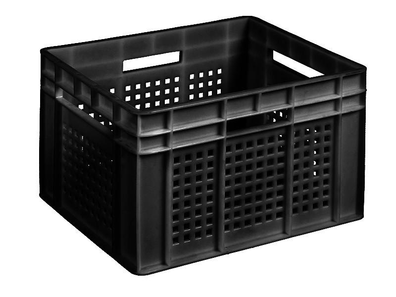 Пластиковый ящик со сплошным дном 433х347х283 мм