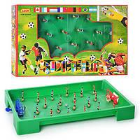 Футбол 8881 (18шт) на пружине, в кор-ке, 53-34-7см