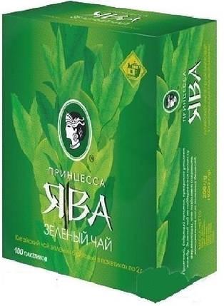 "Чай ""Принцесса Ява"" зелёный  ф/п 100 шт*2 г, фото 2"