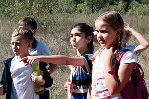 Квест для детей в лагере от Склянка мрiй
