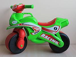 Детский Байк мотоцикл толокар двухколесный пластиковый тм Долони