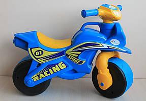 Детский пластиковый Байк двухколесный мотоцикл толокар тм Долони