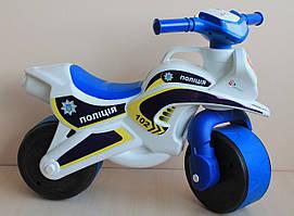 Детский мотоцикл толокар пластик тм Долони