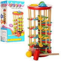 Деревянная игрушка Стучалка QZM-0205  молоточек, Bambi