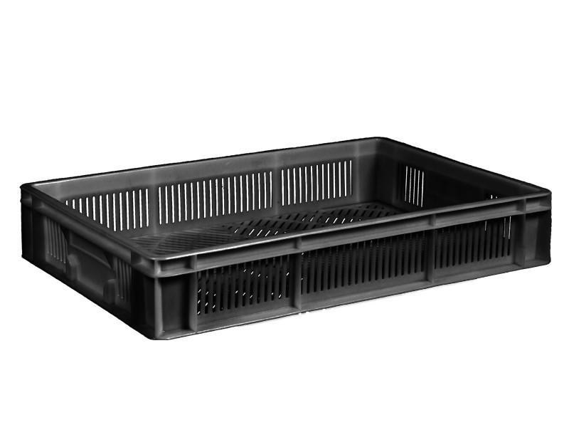 Пластиковый ящик полиэтиленовый 600х400х110 мм