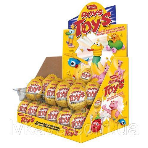 Яйцо-игрушка Simsek Roys Toys  23 g X 24 шт