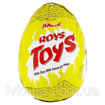 Яйцо-игрушка Simsek Roys Toys  23 g X 24 шт, фото 2