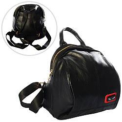 Рюкзак 302-1 (80шт) 23-26-16см, застежка-молния, 1внутр. карман,в кульке, 26-28-5см