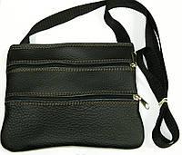Кожаные сумки через плечо 18х15, фото 1