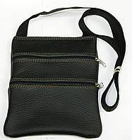 Кожаные сумки через плечо 15х17, фото 1