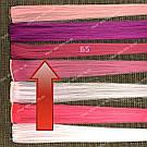 Ярко малиновые пряди волос, фото 2