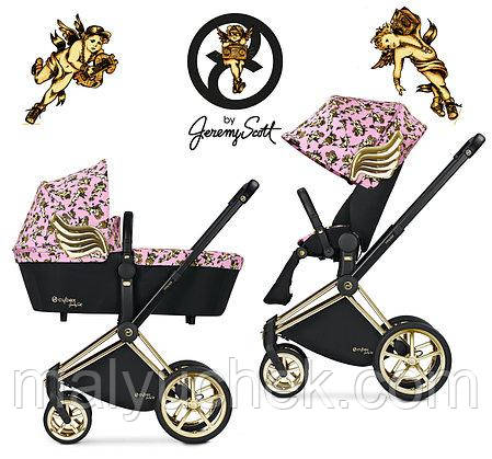 Коляска Cybex Priam by Jeremy Scott Cherubs