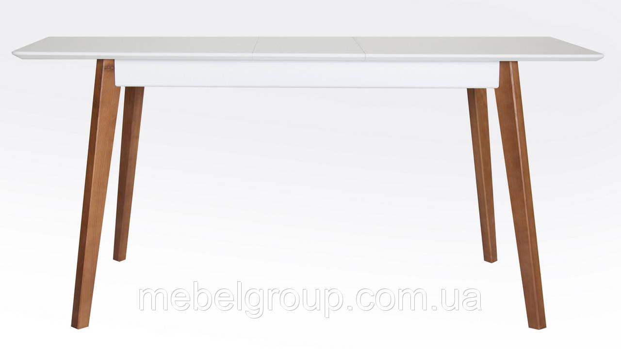 Дерев'яний розкладний стіл Сингл 130(160)x80