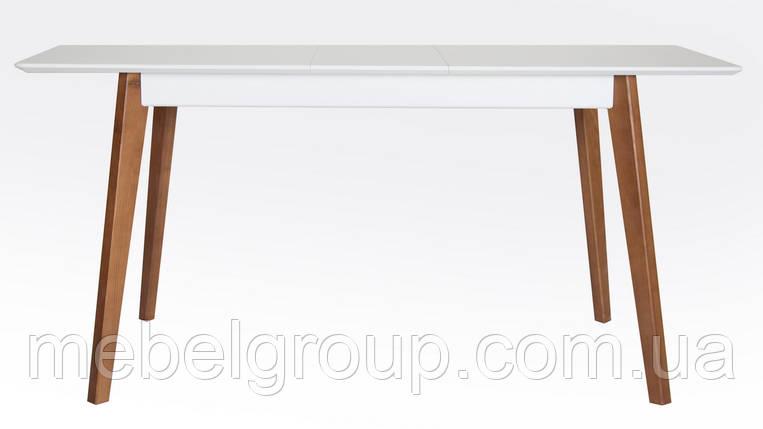 Дерев'яний розкладний стіл Сингл 130(160)x80, фото 2