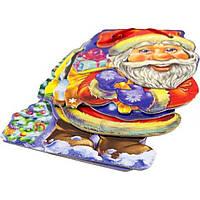 """Книга """"С Новым Годом! Дед Мороз"""" В6 (на украинском) со шнурком"""