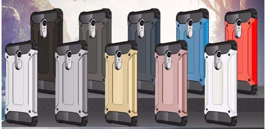 """Противоударный силиконовый чехол с заглушками для Xiaomi Redmi 5 / 5,7"""""""