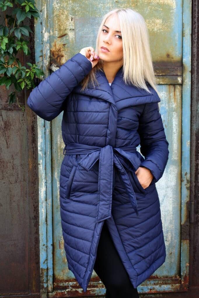 Зимняя куртка с поясом К Бант с 01, фото 1