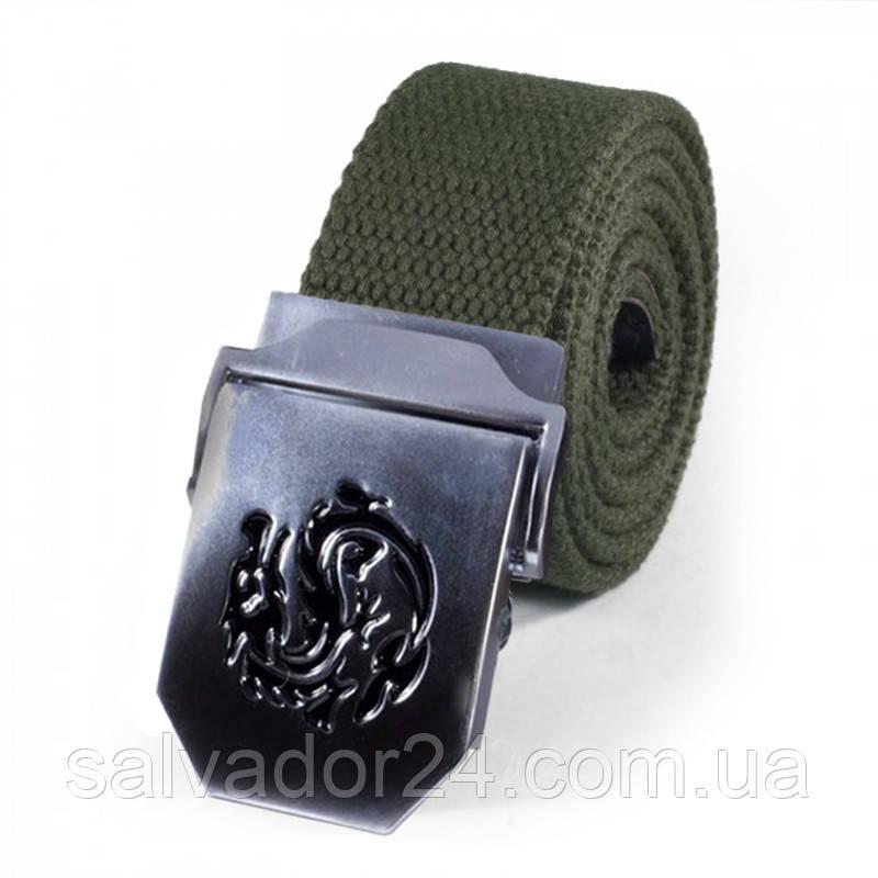 Тактический мужской ремень для брюк NORSSOV Dragon зеленый