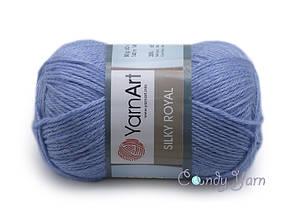 YarnArt Silky Royal, Голубой №443