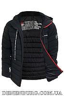 Куртка еврозима мужская ZERO FROZEN ZF70100 чёрная, фото 1