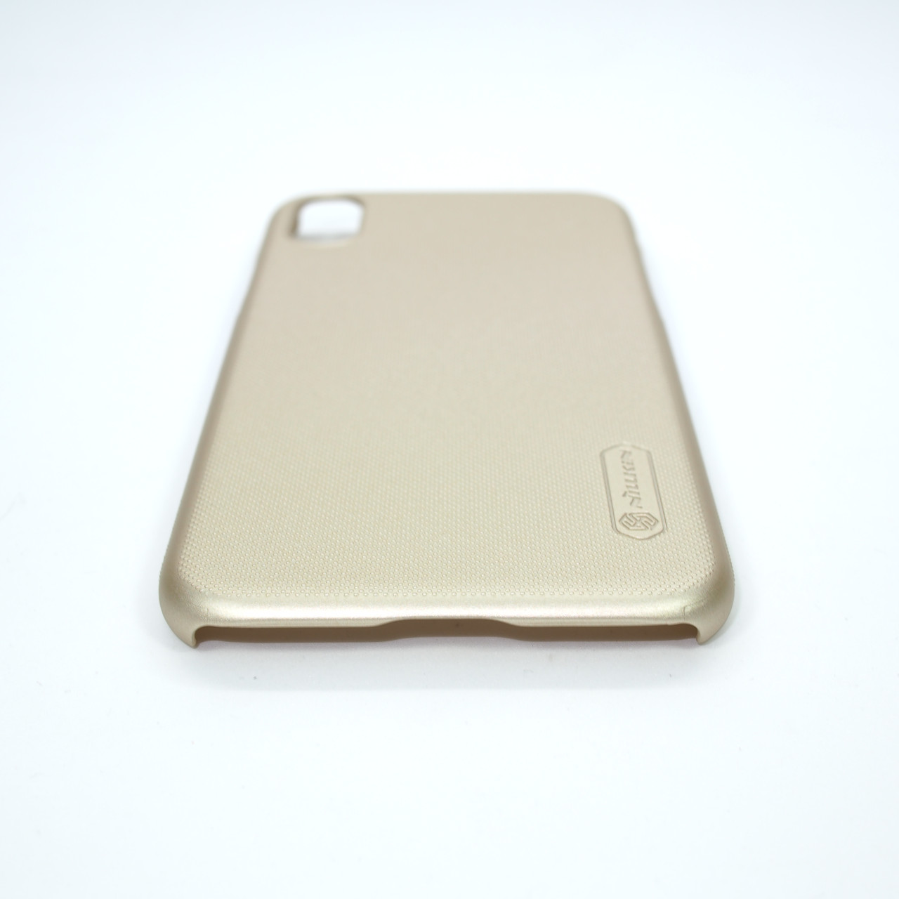 Накладка Nillkin Super Frosted Shield iPhone Xs X gold