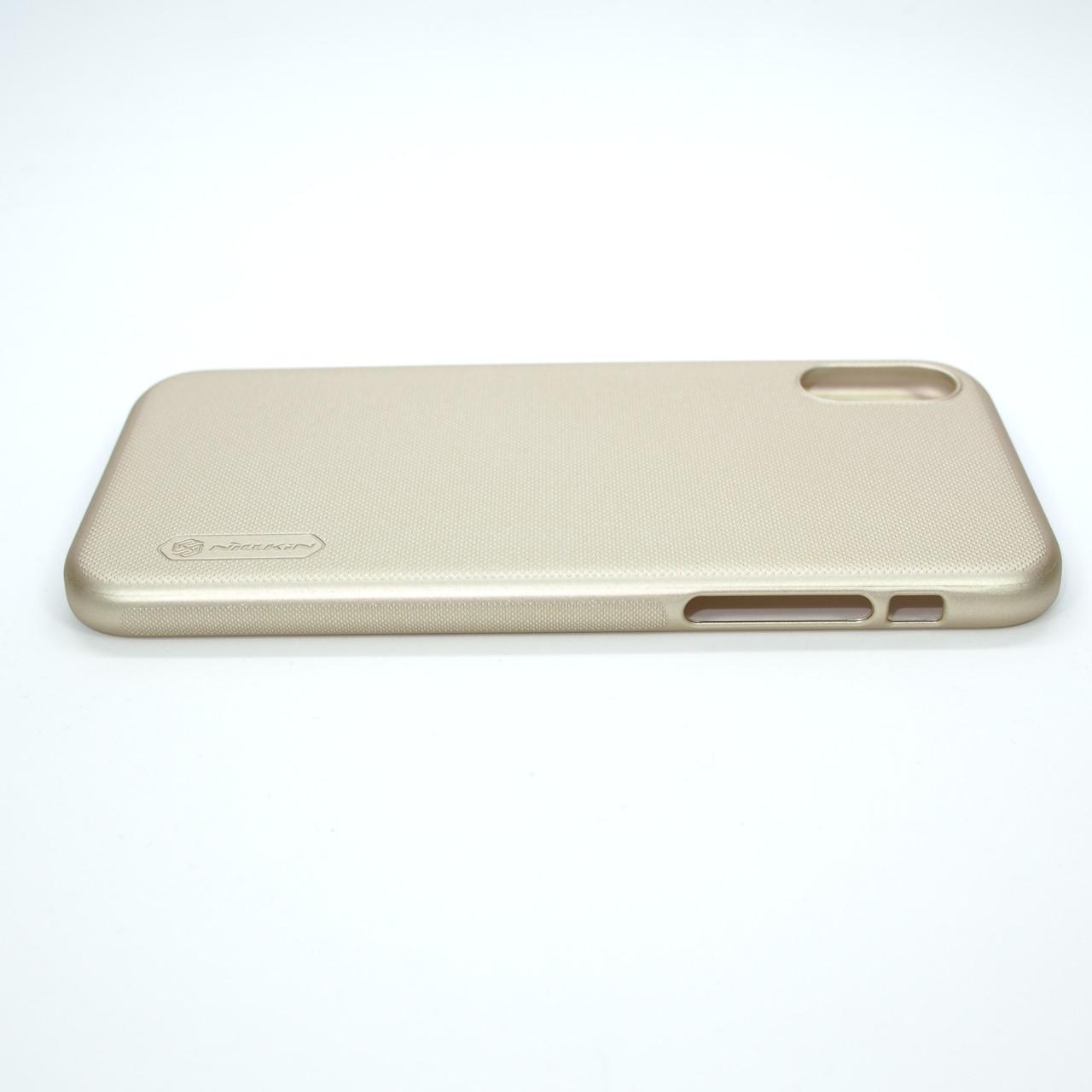 Накладка Nillkin Super Frosted Shield iPhone Xs Для телефона Чехол