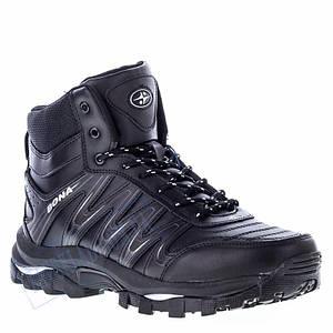 Кроссовки высокие мужские Bona черные BA12