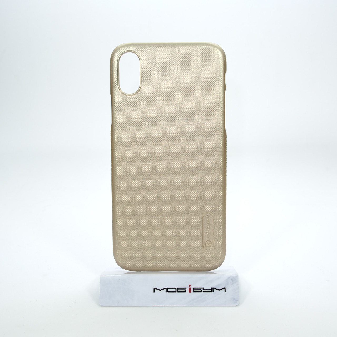 """Накладка Nillkin Super Frosted Shield iPhone Xs/X {5.8""""} gold EAN/UPC: 6902048146280"""