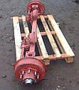Балка (ось) 2ПТС-4 передняя, голая, фото 2