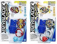 HASBRO Набор 2 бэйблэйда, BeybladeXcalius X2 and Zeutron Z2, бейблейд Оригинал из США