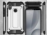 Противоударный чехол с заглушками для Xiaomi Redmi Note 5 / Стекло /, фото 10