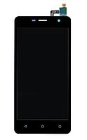 Дисплей (екран) для Nomi i5010 EVO M з сенсором (тачскріном) черный Оригінал