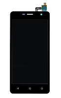 Дисплей (екран) для Nomi i5010 EVO M з сенсором (тачскріном) черный Оригінал, фото 2