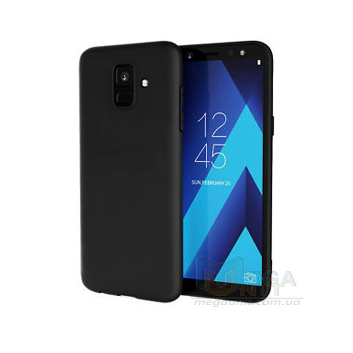 Силиконовый чехол для Samsung Galaxy A6-2018 (A600) с матовым покрытием