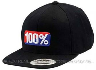 Кепка 100% OG Classic Snapback Hat черная (ОРИГИНАЛ)