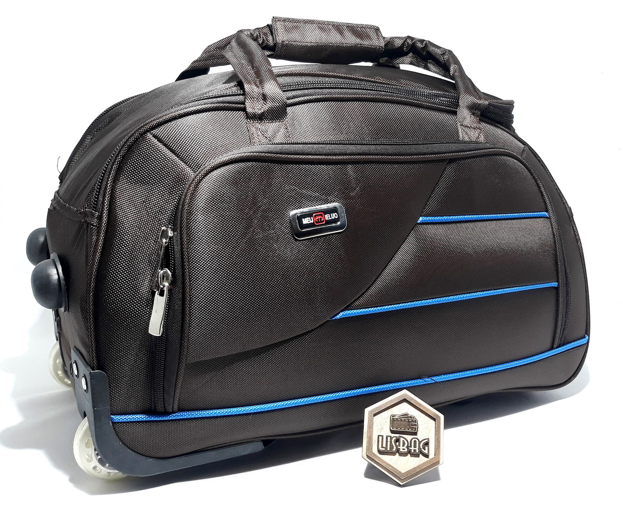 01c3753296f6 Средняя сумка на колесах X (60 л) Темно-коричневая (58*31*34 ...