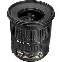 Объектив NIKON AF-S 10-24mm f/3.5-4.5 G ED DX Nikkor