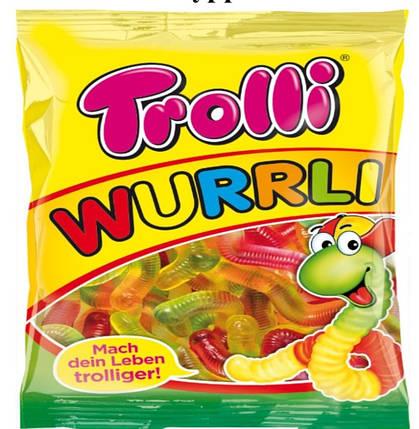 """""""Trolli"""" Жувальні цукерки """"Вуррлі"""" 150г, фото 2"""